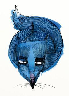 Lis - wall-being Soul Art, Batman, Abstract, Wall, Artwork, Poster, Animals, Fictional Characters, Fox