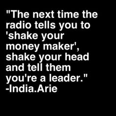 india arie body image quote - Google Search