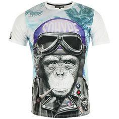 Tee Shirt So Hype Kong Casque Bleu Blanc - LaBoutiqueOfficielle.com