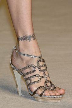 Hermes Lizard Heels