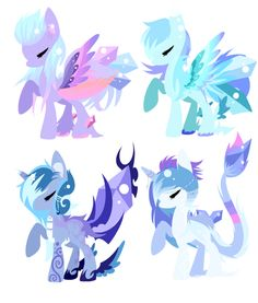 Pony batch 32++closed++ by Vania-k on deviantART
