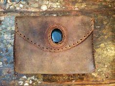 handbag little messenger bag with real natural by ColorsOfEtnika, $99.00