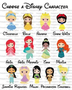 Disney Princess or Tinkerbell Birth by ChrispixsCreations on Etsy