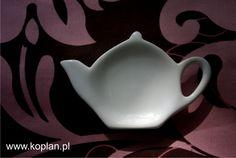 Spodek czajniczek Koplan - biały do dekoracji