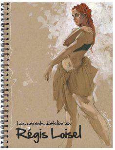 Les Croquis d'Atelier de Régis Loisel - (Régis Loisel) - Art-illustration [BDNET.COM]