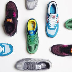 Today's sneakers were chosen by Ali from our END. store. Which do you prefer? http://www.endclothing.co.uk/department/sneakers… pic.twitter.com/9yZyTlWiBZ