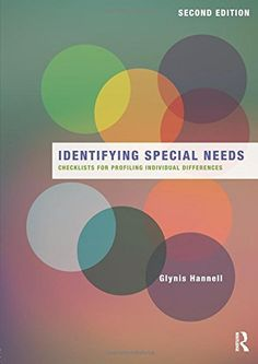 Identifying Special Needs: Checklists for profiling indiv... https://www.amazon.com/dp/0415820235/ref=cm_sw_r_pi_dp_x_yvObybNXMB4KW