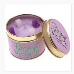 Parma Violets candle  ❤️ Heaven ❤️