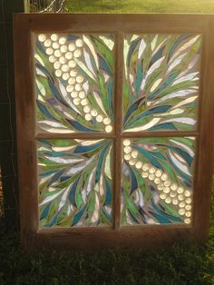 Old window mosaic. by kelli