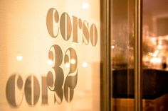 Corso 32 identity and in-store shots... Can't wait to go here!    #restaurant #branding