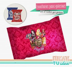 Comprá online Monster Ever After High - Envoltorio Alfajor para imprimir por $23,00. Hacé tu pedido y pagalo online.