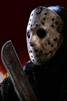 Jason Voorhees-Friday The Jason Voorhees, Jason Friday, Friday The 13th, All Horror Movies, Scary Movies, Horror Icons, Horror Art, Monster Squad, Monster Mash