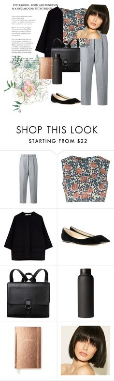 """""""flats"""" by daisy-giselle on Polyvore featuring Acne Studios, Glamorous, Marni, Jimmy Choo, Monki and Kate Spade"""