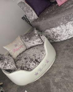 My Bedroom Crushed Velvet Design Mirror Accessories