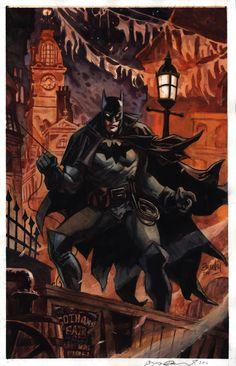 Gotham by Gaslight Batman by Dan Brereton
