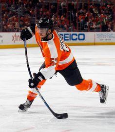 Shayne Gostisbehere of the Philadelphia Flyers.
