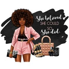 Black Girl Art, Black Art, Black Girl Magic, Art Girl, Black Women Quotes, Black Women Art, Black Love, Black Is Beautiful, Boss Lady