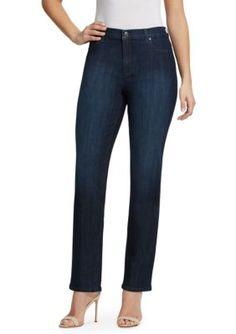 Gloria Vanderbilt Women's Petite Amanda Jeans (Short & Average) - Portland Wash - 10P