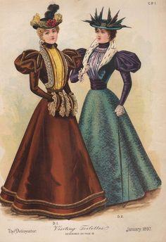1901 Fashion Plate