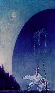East of the Sun and West of the Moon- A Norwegian folk tale and another winter favorite! I was so impressed when my (at the time) 7- yr- old daughter pointed out to me that it was a basically a retelling of the myth of Cupid and Psyche! There is also a movie, 'The Polar Bear King' based on this story.