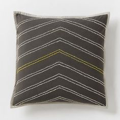 NEW! We collaborated with the Brooklyn-based Jay Street Block Print Company to design the Bergen Pillow Cover, which was then hand beaded by Craftmark certified artisans in India.
