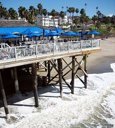 Favorite Restaurant: Nothing better than family and good food at Fisherman's Restaurant on the San Clemente Pier San Clemente California, San Clemente Pier, San Clemente Restaurants, Places Ive Been, Places To Visit, Beach Town, Southern California, Vacation Spots, Beautiful Beaches