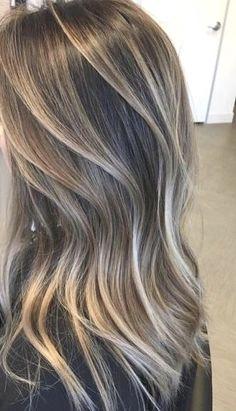 Brown Hair With Blonde Highlights, Brown Hair Balayage, Hair Color Balayage, Hair Highlights, Haircolor, Bayalage, Blonde Balayage, Ombre Hair Color, Brown Hair Colors