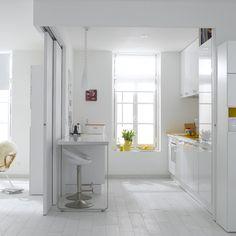 Salle de bains douche l 39 italienne leroy merlin d corer - Cloison atelier leroy merlin ...