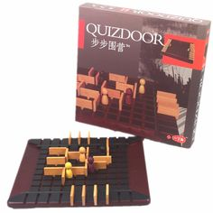 Board Game Quoridor toy Best Gift For Children Family Party Game The most popular wood chess educational game interactive toy Lab Games, Family Party Games, Two Player Games, Game Prices, Interactive Toys, Educational Games, Brain Teasers, Children And Family, Games For Kids