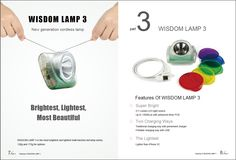 Nowadays,many people are very interested in our new product WISDOM LAMP 3.Here I post a simple picture to give you the brief introduction of the product.Hope you can know it in a more intuitive way! If you'd like to know more about it! Contact me: info@wisdom.hk