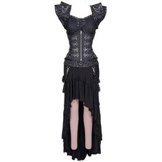 Gothic Underkeeper Corset Dress