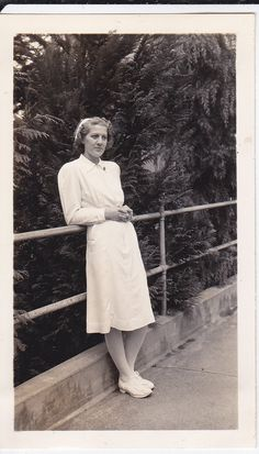Aunt Marge-she seemed to always be a hard working nurse