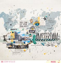 SCRAP KITS & CO: SKC Kit de juin - Amsterdam
