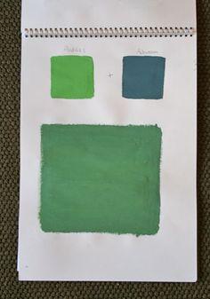 Antibes Green + Aubusson Blue