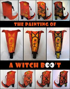All Things Crafty: Miss Witch's Annual Party - Witch BOO't
