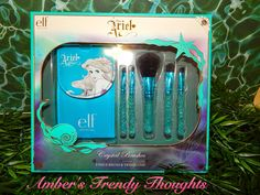 """Amber's Trendy Thoughts!: Disney's """"Ariel"""" Crystal Brushes 5 Piece Brush & Travel Case"""