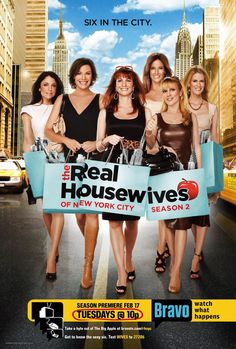 The Real Housewives of New York City are my favorite of the series.
