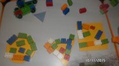 Nossa turminha, Maternal II, brincando com blocos lógicos e jogo de encaixe