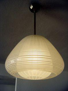 Rare WILHELM WAGENFELD Pendant Lamp  MUNICH  for PEILL & PUTZLER Mid Century