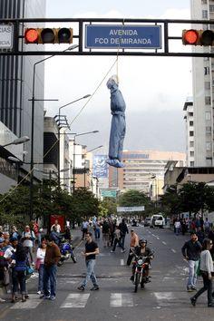 Protesta en Caracas Venezuela