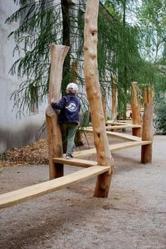 Popular Diy Playground Design Ideas To Make Your Kids Happy - To begin with, there are 2 main issues to be dealt with when building a playground: preparing a safe playground flooring and gathering necessary equip. Playground Flooring, Playground Design, Backyard Playground, Playground Ideas, Modern Playground, Wood Playground, Natural Outdoor Playground, Modern Backyard, Backyard For Kids