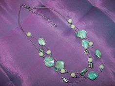 Seaside Necklace by crste3designs on Etsy, $16.00