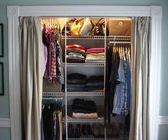 curtain sliding wardrobe doors