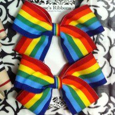 Reese's Ribbons Rainbow Bows