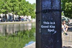 Beautiful Canal Saint-Martin in Paris definitely is a good kiss spot'!  #paris #kiss