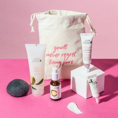 100% Pure 6-piece Free Bonus Gift with $55 Purchase at 100% Pure - details at MakeupBonuses.com #100%Pure #100%Pure #GWP