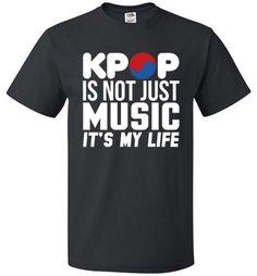 KPOP Shirt Not Just Music It's My Life - oTZI Shirts - 1