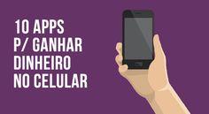 Você está procurando novas formas de ganhar uma renda extra? Então conheça nesse artigo 10 aplicativos para você ganhar dinheiro em casa enquanto usa o smartphone.