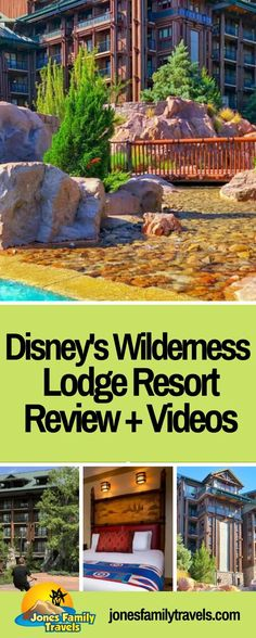 One of our favorite Disney Resorts is Disney's Wilderness Lodge. Check out this Ultimate Guide to Disney's Wilderness Lodge Resort, along with VIDEOS. #disneyworld #waltdisneyworld #disneyworldorlando #disneyworldhotels