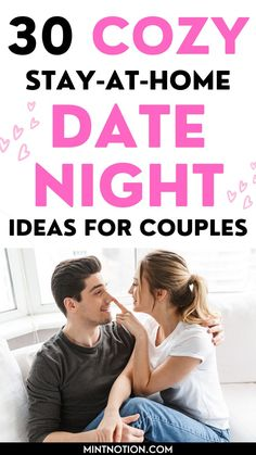 Date night ideas at home. If you're stuck at home, here's the best romantic date night ideas for couples. This list includes DIY date night ideas, gourmet food, creative and unique date nights for married or couples. At home date ideas for him. Creative Date Night Ideas, Romantic Date Night Ideas, Romantic Dates, Activities For Adults, Home Activities, Frugal Family, Frugal Living, Indoor Date Ideas, At Home Dates